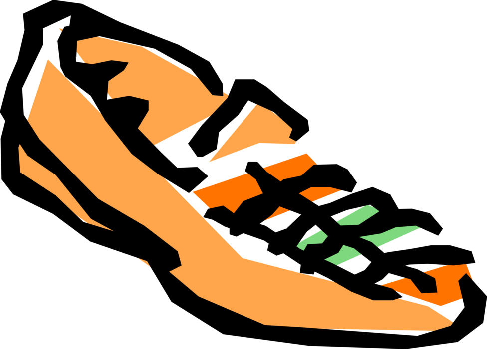 Vector Illustration of Fashion and Garment Industry Footwear Shoe