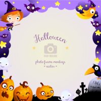 Pl0rexeno halloween photo frame 01