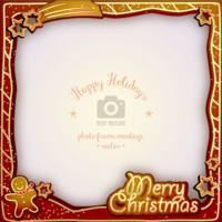3sznfuz0x0 wannapik vector happy holidays photo frame christmas 04