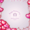 Wannapik vector valentine photo frame 03