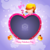 Wannapik vector valentine photo frame 02