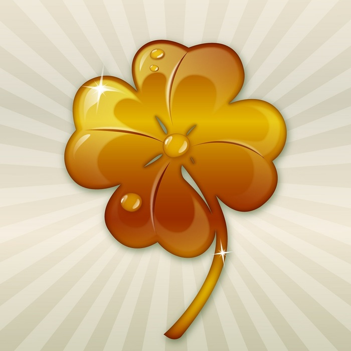 Four Leaf Golden Clover
