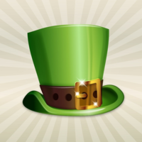 25494o35qq st patricks day essentials top hat