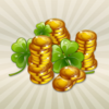 St patricks lucky symbol stack%20of%20gold%20coins