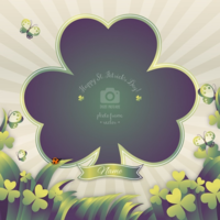69lehsslnz wannapik vector st patricks day photo frame 01