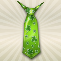 6hequ9nlj9 st patricks day essentials shamrock tie