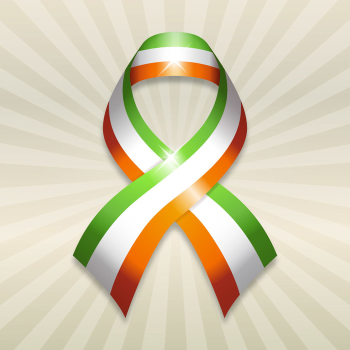 St. Patrick's Day Irish Pride Flag Ribbon