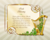 St patricks day irish blessing design 08