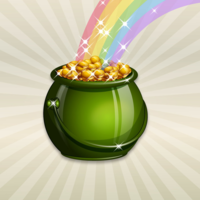 1t5ic6g8kb st patricks day irish pride pot of gold rainbow