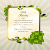 St patricks day irish blessing design 12