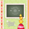 Wannapik vector easter photo frame 02 01