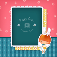 6o1d0hhyph wannapik vector easter photo frame 05 01