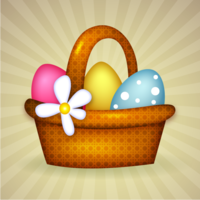 3ttggjjpzu cute easter previews basket of eggs