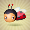 Cute easter previews baby ladybug