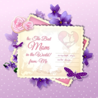 W38owl4x8 wannapik vector mothers day postcard
