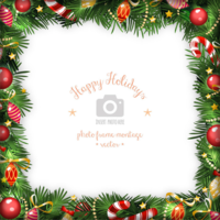 4jpaohhqtl happy holidays wreath photo frame design 01