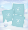 Winter photo frame 01